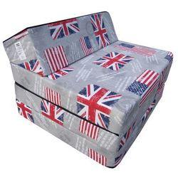 Fotel materac składany 200x70x10 cm - GLORY