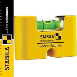 Poziomica kieszonkowa magnetyczna STABILA POCKET ELECTRIC