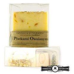 Mydło kastylijskie z płatkami owsianymi - Czyste mydło
