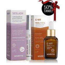 SesDerma - C-Vit Liposomal Serum + Seslash Lash And Eyebrow Serum - Serum liposomowe z witaminą C + Odżywka do rzęs i brwi - 30 ml + 5 ml - DOSTAWA GR Ten produkt jest w ofercie promocyjnej - sprawdź ją teraz !