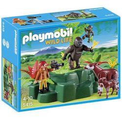 Playmobil CITY LIFE Okapi przy skale z gorylami 5415