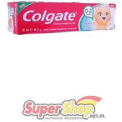 Colgate pasta do zębów 0-2 strawberry 50ml Kids