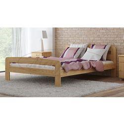 Łóżko drewniane Klaudia 120x200 z materacem kieszeniowym