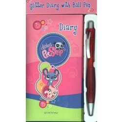 Pamiętnik Littlest Pet Shop + długopis