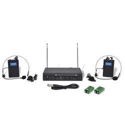 Odbiornik z dwoma bezprzewodowymi słuchawkami z mikrofonem VHF Zapisz się do naszego Newslettera i odbierz voucher 20 PLN na zakupy w VidaXL!