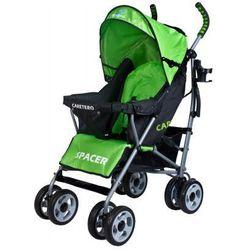 Caretero SPACER CLASSIC wózek dziecięcy spacerówka zielony green