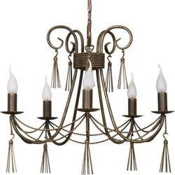 Żyrandol LAMPA wisząca TWIST 2766 Nowodvorski świecznikowy ZWIS metalowy maria teresa patyna
