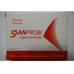 Sanprobi Super Formula kaps. 40 kaps.