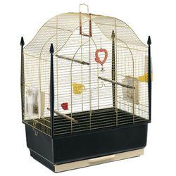 Ferplast Villa mosiądz klatka dla kanarków, papużki z wyposażeniem