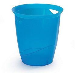 Kosz na smieci Durable Trend 16L niebieski-przezroczysty 1701710540