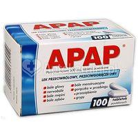 APAP 100 tabletek