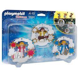 Playmobil CHRISTMAS Dekoracja świąteczna aniołki 5591