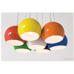 Lampa wisząca Calotta Colore 7er by Kare Design