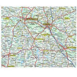 Polska. Mapa ścienna drogowa 1:800 tys - Praca Zbiorowa
