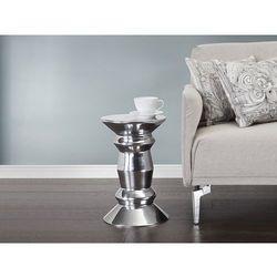 Nowoczesny stolik kawowy - lawa - aluminium - DURBAN