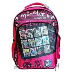 Plecak szkolny MONSTER HIGH Paso 22731PSM + GRATIS