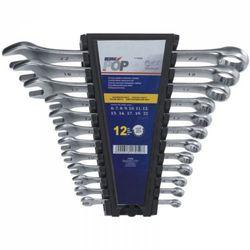 Zestaw kluczy płasko-oczkowych DEDRA 1703K 8 - 22 mm (8 elementów)