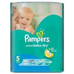 Pampers Pieluchy Active Baby Dry 5 Junior (42 szt.)