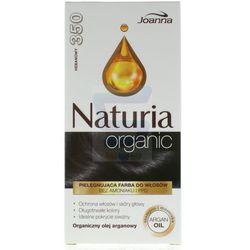 Joanna Naturia organic farba do włosów bez amoniaku Hebanowy nr 350