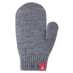 Rękawiczki Reima Stig cienka włóczka wełniana szare jednopalczaste