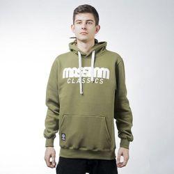 Mass Denim sweatshirt bluza Classics hoody khaki - khaki
