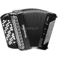 Serenellini 373 CR 37(67)/3/7 96/4(F/N-2)/3 akordeon guzikowy z konwertorem (czarny) Płacąc przelewem przesyłka gratis!