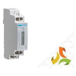 Licznik cyfrowy 32A 1-fazowy 1-taryfowy, z wyświetlaczem LED EC051 HAGER