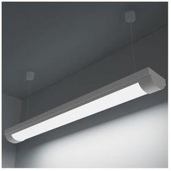 Lampa sufitowa, świetlówka LED 14W zimny biały+zestaw do zawieszania Zapisz się do naszego Newslettera i odbierz voucher 20 PLN na zakupy w VidaXL!