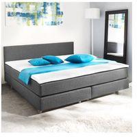 Łóżko prostokątne z materacem sprężynowym 200 x 140 cm Zapisz się do naszego Newslettera i odbierz voucher 20 PLN na zakupy w VidaXL!
