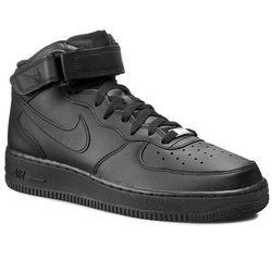 Buty NIKE - Air Force 1 Mid '07 315123 001 Black