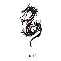 Szablon do błyszczącego tatuażu Fengda 06-10