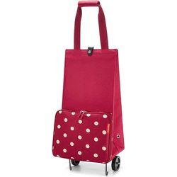Wózek na zakupy Reisenthel Foldabletrolley Ruby Dots