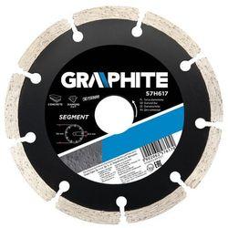 Tarcza do cięcia GRAPHITE 57H870 200 x 25.4 mm. diamentowa segmentowa