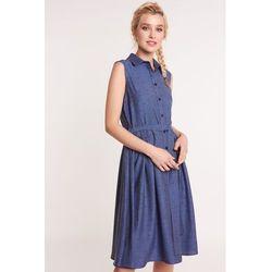 8946b08b5d5bfd ... (suknie sukienki sukienka z dlugim rekawem tunika rozkloszowana  mietowa) we wszystkich kategoriach. Rozkloszowana sukienka z kołnierzykiem