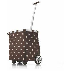 Wózek na zakupy Reisenthel Carrycruiser 40l, mocha dots