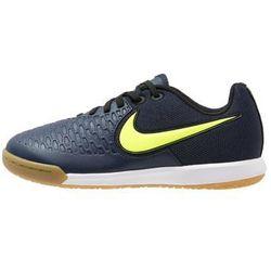 Nike Performance MAGISTAX PRO IC Halówki midnight navy/volt/light brown/white/black