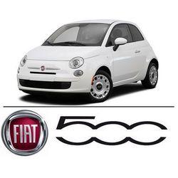 Fiat 500 - Światła do jazdy dziennej LED DRL W21/5W - Zestaw 2 żarówki