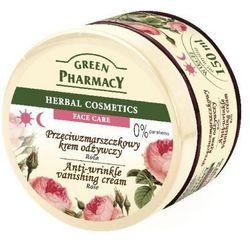 Green Pharmacy Herbal Cosmetics Krem do twarzy przeciwzmarszczkowy z różš