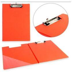 Deska A4 z klipem zamykana czerwona Penword + zakładka do książki GRATIS