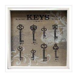 Wieszak na klucze ''Keys'', biały