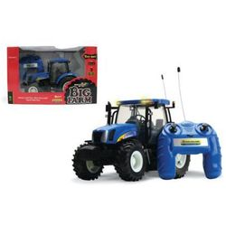 TOMY Zdalnie sterowany traktor New Holland