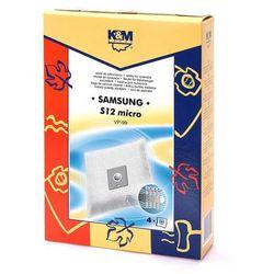 Worki do odkurzaczy K&M Samsung VP-99 Micro bag S12 (4 szt.)