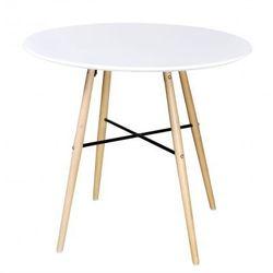 Biały matowy, okrągły stolik Zapisz się do naszego Newslettera i odbierz voucher 20 PLN na zakupy w VidaXL!