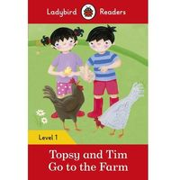 Topsy And Tim: Go To The Farm - Ladybird Readers Level 1 (opr. miękka)