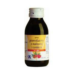 Syrop Prawoślazowy z malinami i cynkiem 100 ml