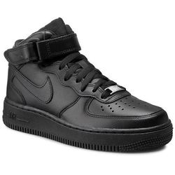 Buty NIKE - Air Force 1 Mid '07 LE 366731 001 Black/Black