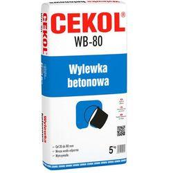 Wylewka betonowa WB-80 Cekol 5 kg