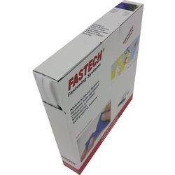 Taśma rzepowa Do przyklejenia element z pętelkami i haczykami (DxS) 25 m x 10 mm Biały Fastech 25 m