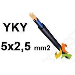 KABEL YKY 5x2,5mm2 0,6/1kV PRZEWÓD ZIEMNY MIEDZIANY
