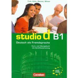 Studio d B1 Kurs- und Ubungsbuch (opr. miękka)